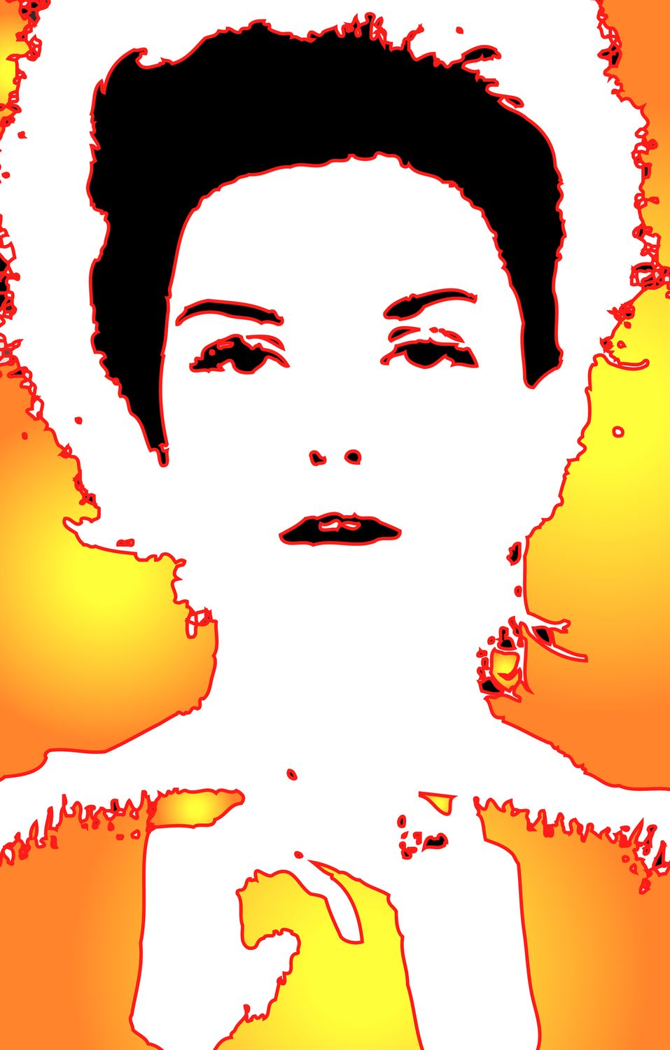 - This is my favorite - Donna Mitchell with Back/Side lighting and a sunburst effect - A portrait of Donna Mitchell as a young model - 1962 - Tony Karp, design, art, photography, techno-impressionist, techno-impressionism, aerial photography , drone , drones , dji , mavic pro , video , 3D printing - Books -