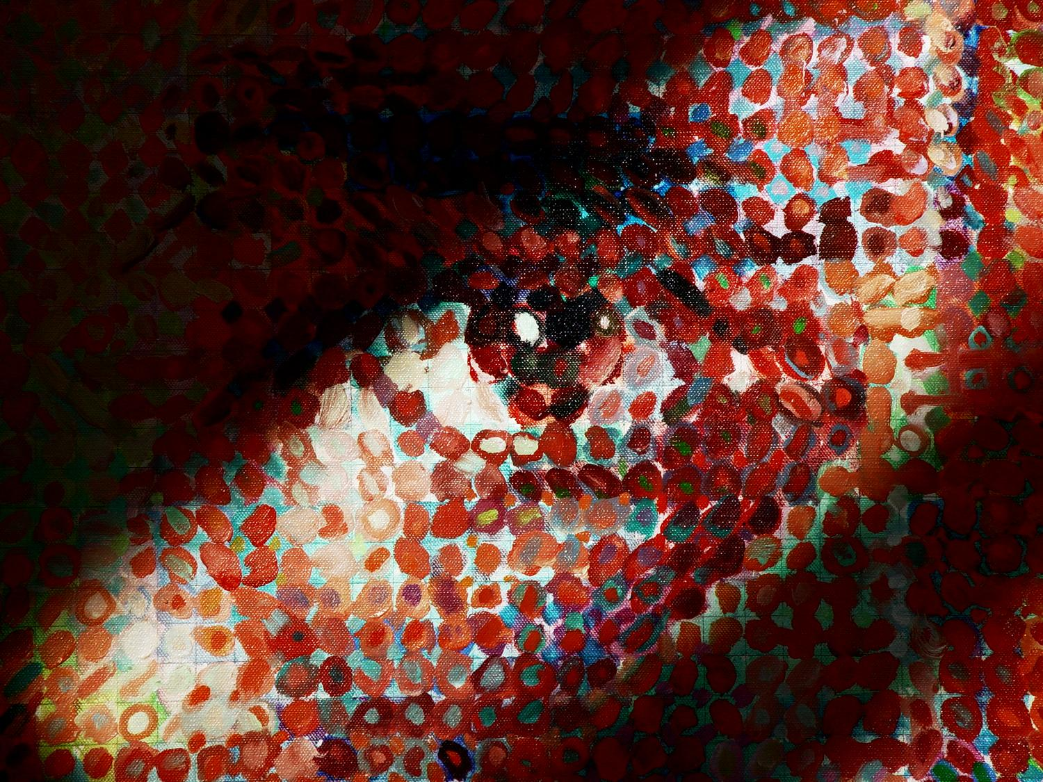 Chuck Close - Close to Close - Metropolitan Museum of Art, New York City - Tony Karp, design, art, photography, techno-impressionist, techno-impressionism, aerial photography , drone , drones , dji , mavic pro , video , 3D printing - Books -