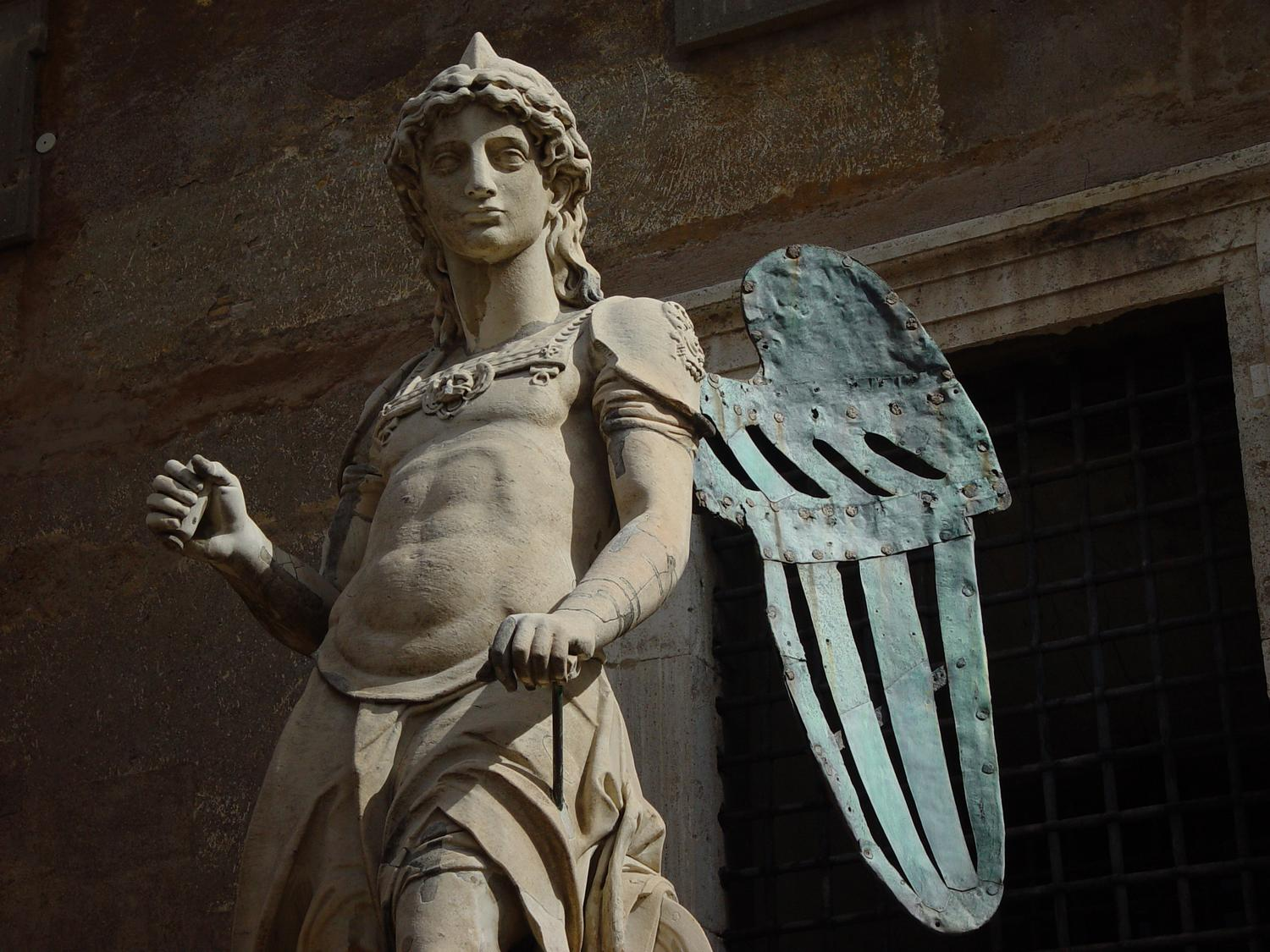 - Photography becomes art - Making an angel - Angel at Castel Sant'Angelo - Rome, Italy - The archangel Michael decided to sheath his sword and stop killing Romans with plague--this statue by Raffaello da Montelupo (1504–1566) commemorates the end of an epidemic in 590. - Sony DSC-F707 - Tony Karp, design, art, photography, techno-impressionist, techno-impressionism, aerial photography , drone , drones , dji , mavic pro , video , 3D printing - Books -