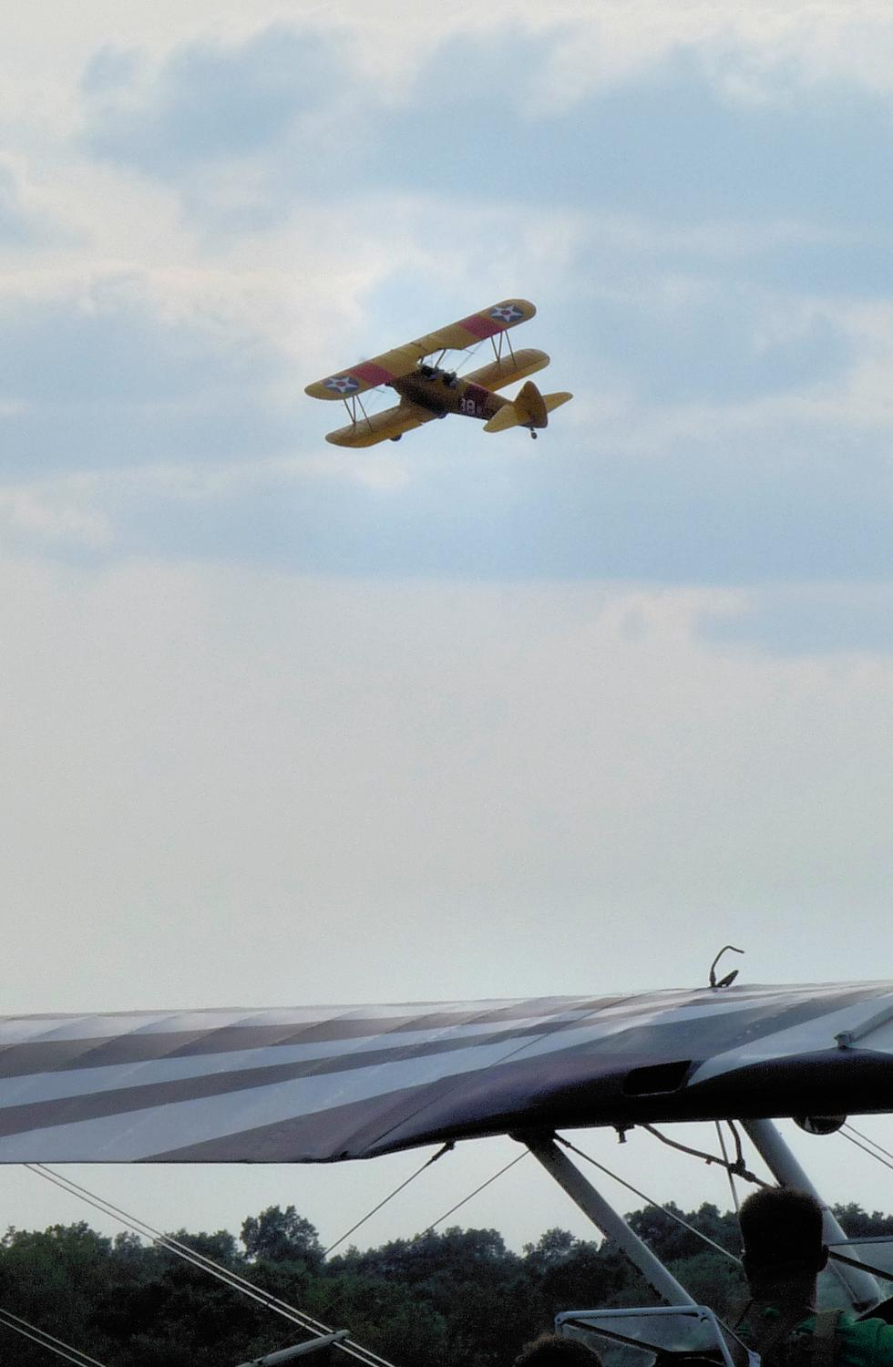 vintage biplane - Takeoff - Panasonic DMC-FZ28 -- At the Flying Circus - Bealton Virginia - Tony Karp, design, art, photography, techno-impressionist, techno-impressionism, aerial photography , drone , drones , dji , mavic pro , video , 3D printing - Books -