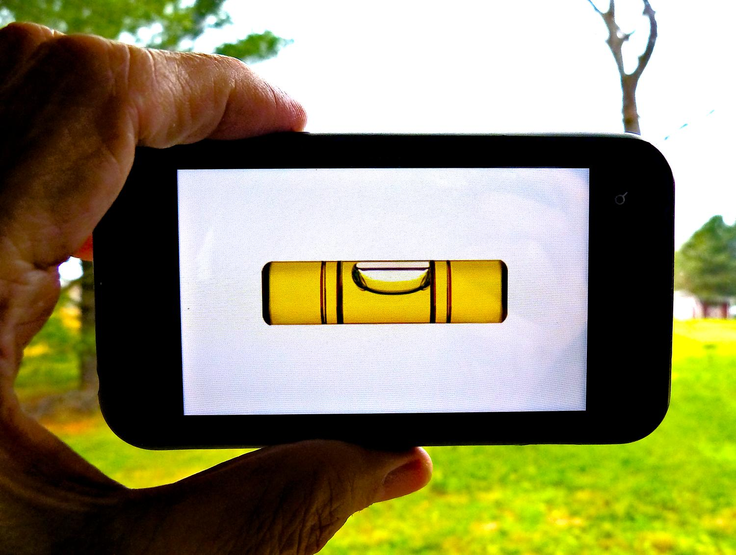 - Here's a smartphone app that puts a bubble level on its screen. I want this in my camera! - Tony Karp, design, art, photography, techno-impressionist, techno-impressionism, aerial photography , drone , drones , dji , mavic pro , video , 3D printing - Books -